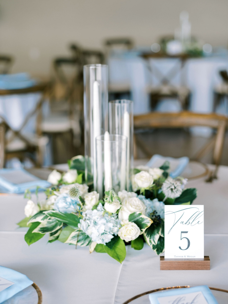 Coeur d Alene Wedding Florist Center Piece Table 5